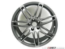 audi titanium wheels genuine volkswagen audi 8e0601025be rs4 19 alloy wheel