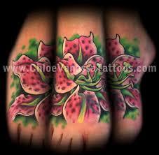 thinking tattoo designs lily tattoos pinterest