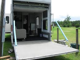 rv net open roads forum new used toy hauler using ramp as