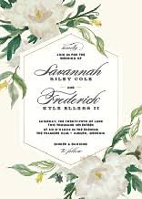 wedding invitations greenery greenery wedding invitations elli