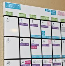 Pottery Barn Calendar Magnetic Calendar Board Daily System Magnetic Whiteboard Calendar