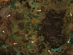 Gw2 World Map by Gw2 Guild Bounty Guild Mission Guide Dulfy