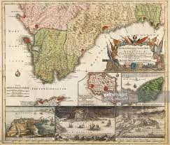 Map Of Southern Spain Map Of Southern Spain And Andalusia Stock Illustration Getty Images