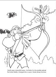 image swan princess official coloring page 29 png richard rich