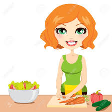 healthy food cartoon stock photos royalty free healthy food