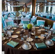 Tiffany Blue Wedding Centerpiece Ideas by Chocolate Brown U0026 Blue Reception Decor Wedding Favors Unlimited
