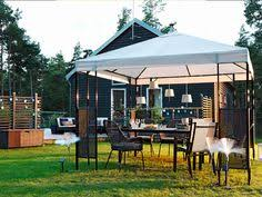 ikea pergolas jardin ammerö cenador ikea terrazas pergolas diy