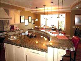 curved kitchen islands island kitchen best kitchen islands images on intended for