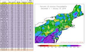 Snowfall Totals Map Cool U0026 Wet So Far