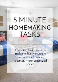 5 minute homemaking tasks simple simon and company