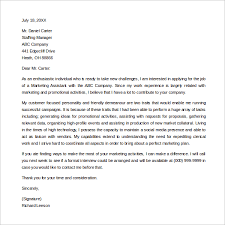 sample entry level marketing cover letter 7 free documents in