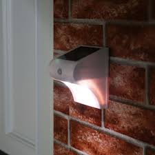 Solar Powered Wall Lights Uk - solar powered wall lights with pir white smd