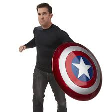 marvel legends captain america shield amazon co uk toys u0026 games