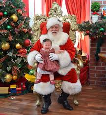 when is the right time for santa claus to set up shop at the mall