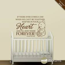 nursery wall decal quote winnie the pooh heart by wallstickums nursery wall decal quote winnie the pooh heart by wallstickums