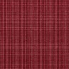Red Plaid Upholstery Fabric Sunbrella Surge Sangria 56083 0000 Indoor Outdoor Upholstery