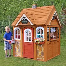 stoneycreek cedar outdoor playhouse