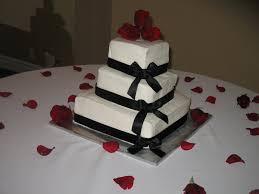 dede u0027s cakes 3 tier square wedding cake