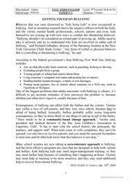 2 free esl cyberbullying worksheets