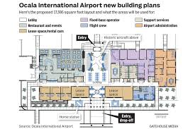 boeing 767 floor plan ocala airport flying high with plans for new terminal news