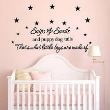 star baby nursery promotion shop for promotional star baby nursery snips snails puppy dog tails star baby room wall stickers decal for kids bedroom nursery decor 50 110cm