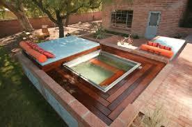 Square Backyard Spa Backyard Landscaping Design Collaborations - Backyard spa designs