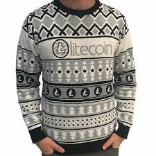 christmas sweater litecoin sweater hodlmoon