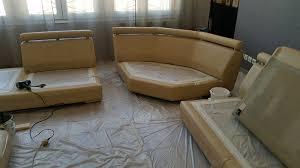 restaurer un canap d angle relooking d un canapé roche bobois d angle en bi tons bcline