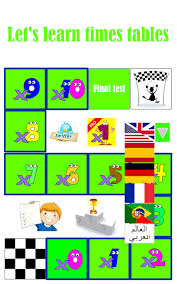 Learn Times Tables Times Tables Android Apps On Google Play