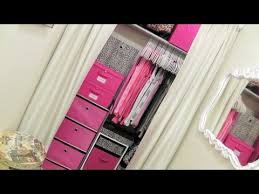 How To Make A Small Kids Bedroom Look Bigger Closet Tour Organizing A Very Small Closet Youtube