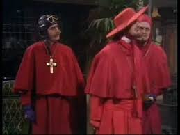 Spanish Inquisition Meme - python no one expects the spanish inquisition youtube