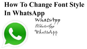 how to change the font on android how to change the font style bold italic on whatsapp