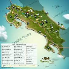 Costa Rica Airports Map Costa Rica National Parks U2013 Guide To National Parks In Costa Rica