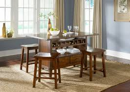 Vegas Storage Bar Table Dining Tables Awesome Kitchen Breakfast Bar Table And Stools