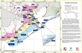 Map Of Galveston State Level Maps