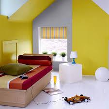 chambre jaune et bleu deco chambre jaune et gris