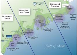 Map Portland Maine by Sustainable Ecological Aquaculture Network Seanet Maine Epscor