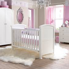 Cot Bed Nursery Furniture Sets by Buy Tranquillity 3 Piece White Cot Bed Wardrobe And Chest Of