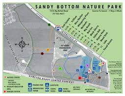 Road Map Virginia by Sandy Bottom Nature Park Map Hampton Virginia Datasets The