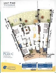 Marina Square Floor Plan 2 Or 3 Bdrm Amazing Oceanview Condo Costa B Vrbo