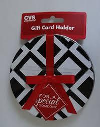 gift card tin cvs pharmacy gift card holder box tin black with white