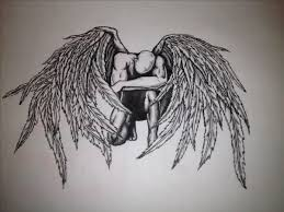 how to draw angel wings cool how to draw angel wings with how to