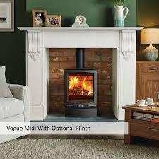 stovax vogue midi wood burner a bell defra approved