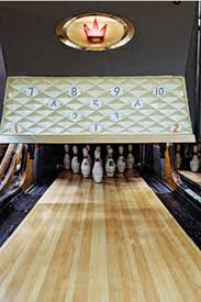 streetside a church basement bowling alley draws a party in