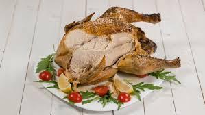 delicious roast chicken on thanksgiving by biggunsband