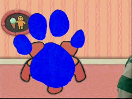 blues clues paw print