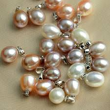 natural freshwater pearl necklace images Buy simple real natural freshwater pearl necklace jpg
