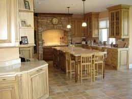 warm kitchen color schemes round glass pendant lamp wooden saddle