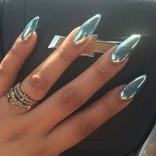 glamour chrome nails trends 2017 57 lucky bella