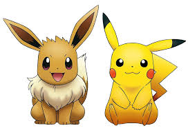 eevee and pikachu pokemon wallpaper 2048x1152 images pokemon images